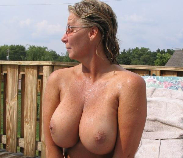 Mature candid nude beach